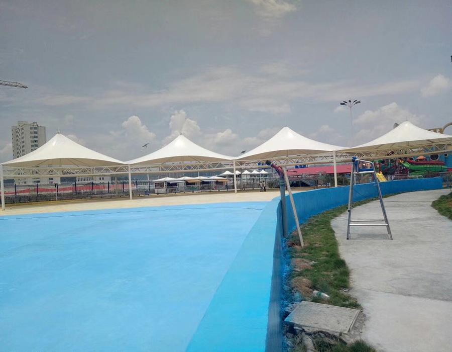 泳池雨棚膜